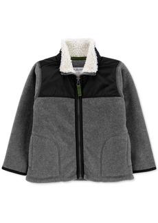 Carter's Toddler Boys Fleece Zip-Up Jacket