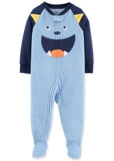 Carter's Toddler Boys Monster Footed Fleece Pajamas