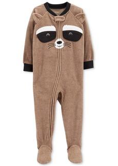 Carter's Toddler Boys Raccoon Footed Pajamas