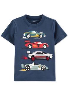 Carter's Toddler Boys Race Car-Print Cotton T-Shirt