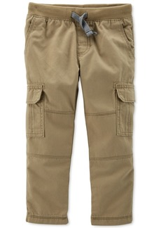 Carter's Toddler Boys Reinforced-Knee Cargo Pants