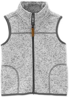 Carter's Toddler Boys Zip-Up Faux-Sherpa Vest
