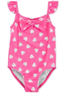 Carter's Toddler Girls 1-Pc. Ruffled Heart Swimsuit