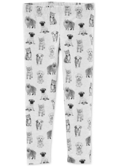 Carter's Toddler Girls Animal-Print Leggings