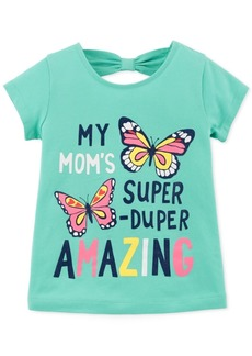 Carter's Toddler Girls Butterfly-Print Cotton T-Shirt