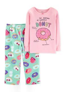 Carter's Toddler Girls Donut-Print Pajamas