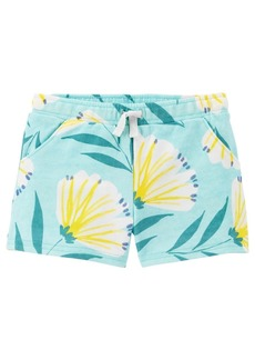 Carter's Toddler Girls Floral Pull-On Shorts