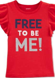 Carter's Toddler Girls Free to Be Me Cotton Top