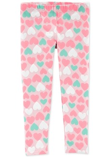 Carter's Toddler Girls Heart-Print Leggings