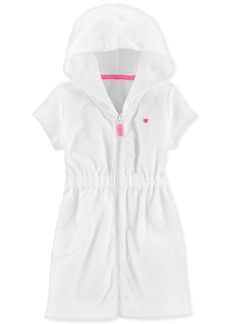 Carter's Toddler Girls Hooded Zip-Up Cover-Up