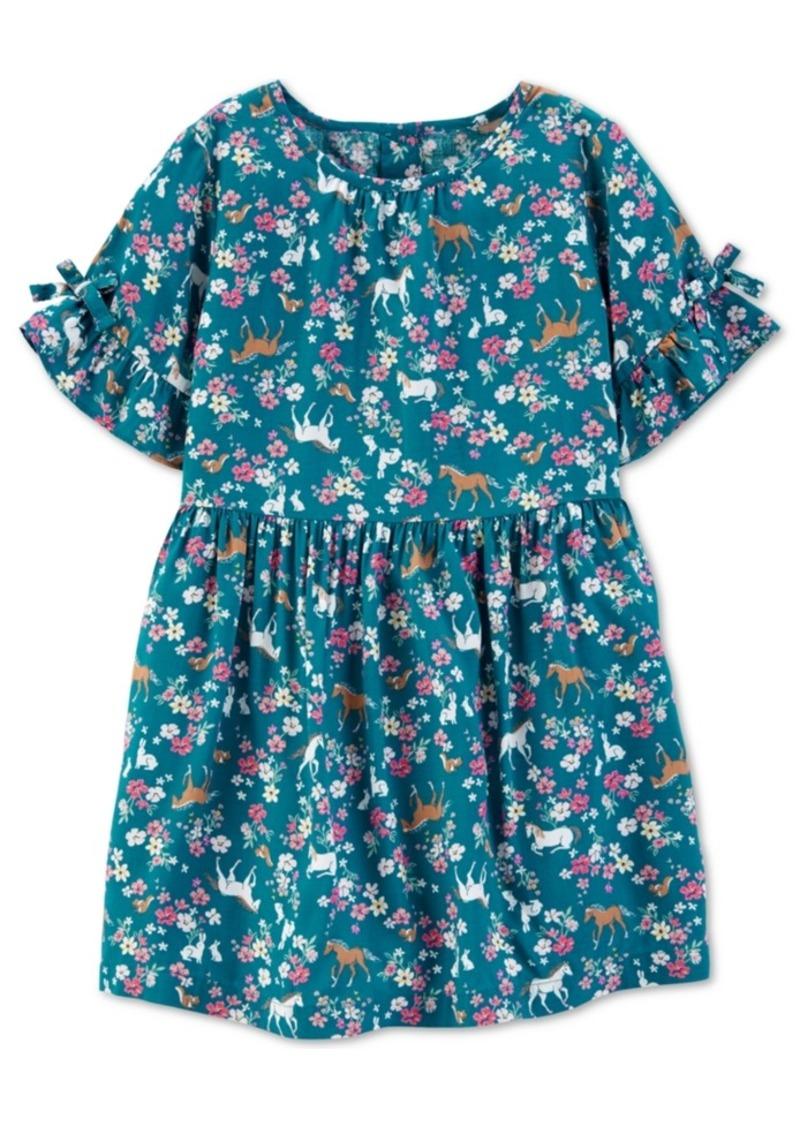 Carter's Toddler Girls Horse-Print Dress