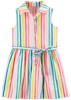 Carter's Toddler Girls Multicolor Striped Cotton Sundress