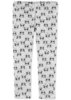 Carter's Toddler Girls Panda-Print Fleece Leggings