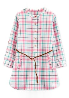 Carter's Toddler Girls Plaid Dress