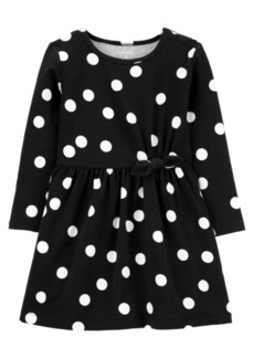 Carter's Toddler Girls Polka Dot Jersey Dress
