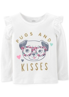 Carter's Toddler Girls Pugs-Print Cotton T-Shirt