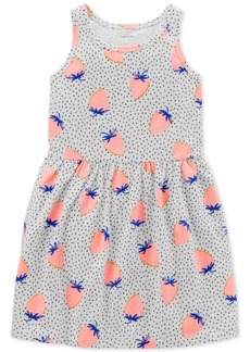 Carter's Toddler Girls Strawberry-Print Cotton Tank Dress