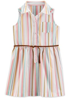 Carter's Toddler Girls Striped Shirtdress
