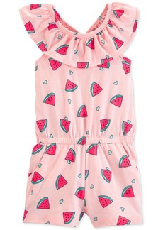 Carter's Toddler Girls Watermelon-Print Romper