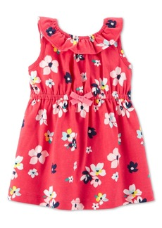Carter's Carte's Baby Girls Floral-Print Cotton Sundress