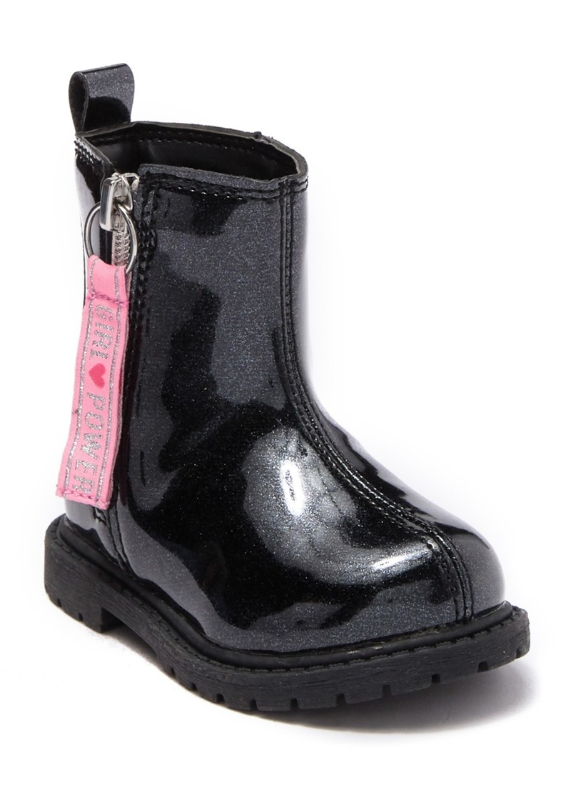 Carter's Kaia Patent Glitter Boot (Baby & Toddler)