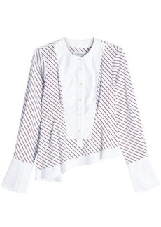 Carven Asymmetric Cotton Shirt