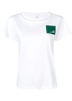 Carven branded patch T-shirt
