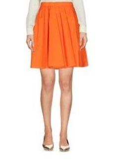 CARVEN - Knee length skirt