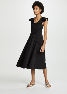 Carven Cap Sleeve Dress