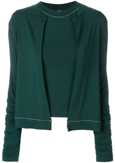 Carven cardigan top - Green