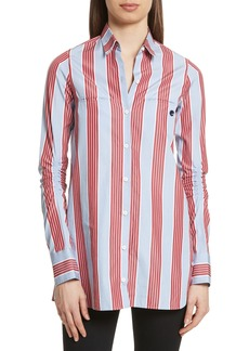 Carven Chemise Manches Longues Stripe Shirt