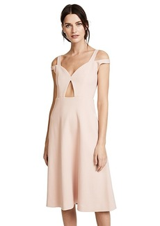 Carven Cold Shoulder Dress