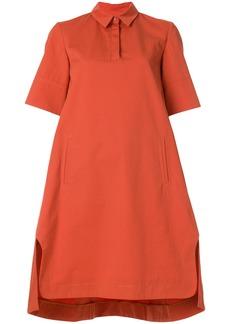 Carven collared shift dress - Yellow & Orange