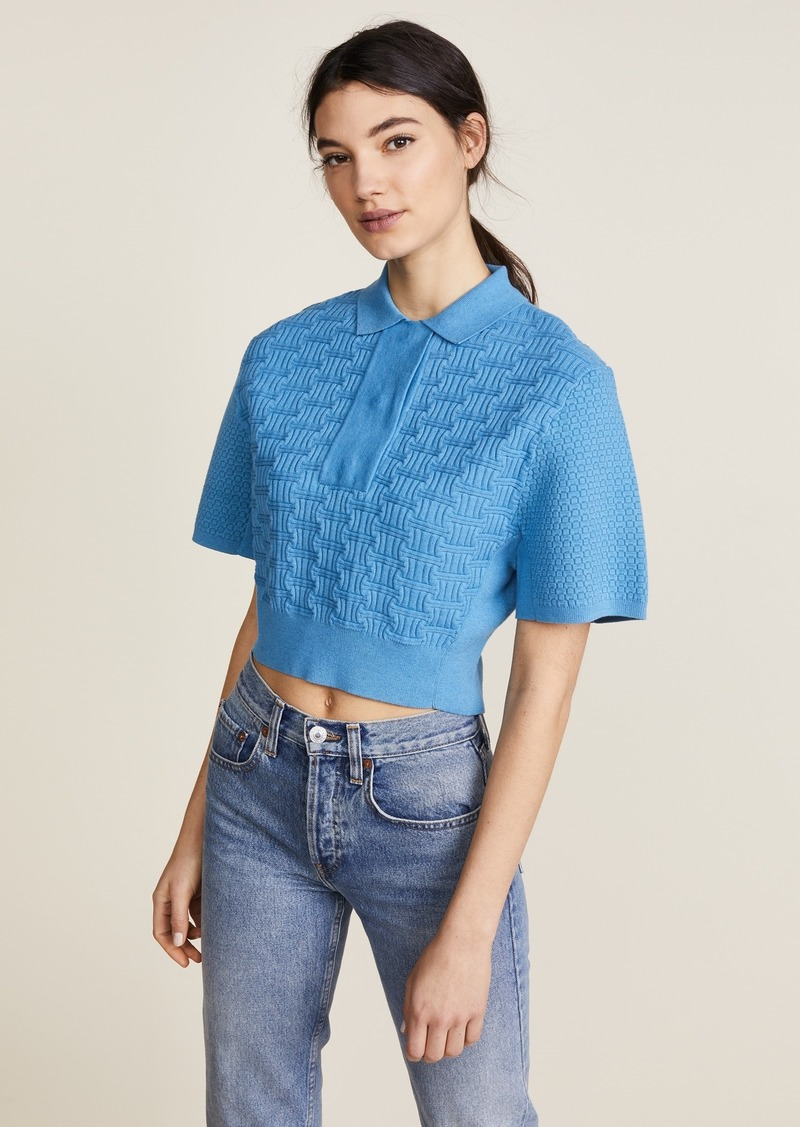 201ba092b0 Carven Carven Cropped Collared Shirt