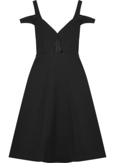 Carven Cutout Crepe Dress