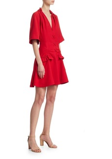 Carven Darted Mini Dress