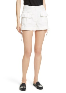 Carven High Waist Shorts