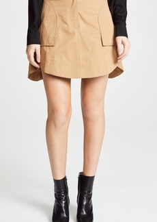 Carven Mini Skirt with Pockets