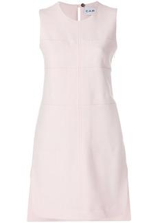 Carven panelled shift dress - Pink & Purple