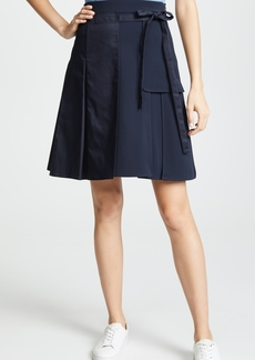 Carven Pleated Midi Skirt