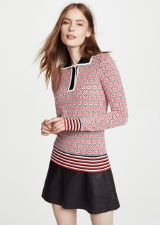 Carven Polo Sweater