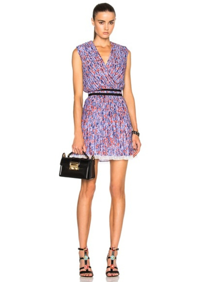 Carven Printed Sleeveless Dress