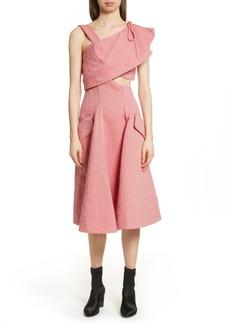 Carven Robe Genou Dress
