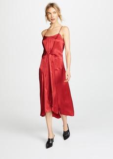 Carven Satin Slip Dress
