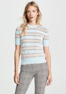 Carven Short Sleeve Sweater