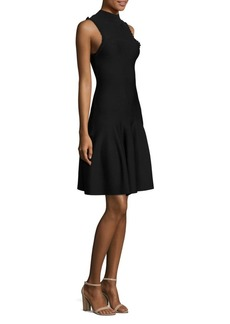 Carven Sleeveless Fit & Flare Dress