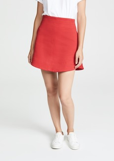 Carven Slubbed Miniskirt