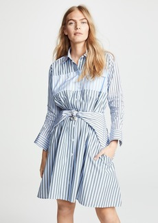 Carven Stripe Mini Shirtdress