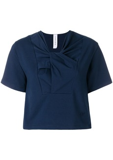 Carven twisted neck T-shirt