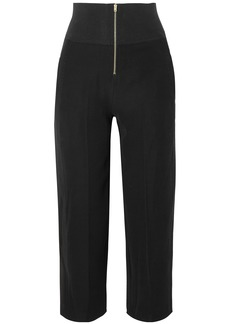 Carven Woman Cady Tapered Pants Black